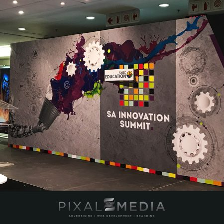 2018 SA Innovation Summit Stage Backdrop